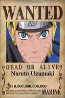 Wanted: Naruto Uzumaki by CannedMadMan66