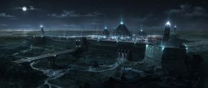 Pyramid City by BlueRogueVyse