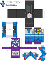 Paper Pezzy- Thundercracker by CyberDrone