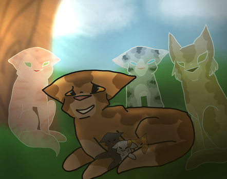 Redo , Leafpool And Kits by midnightstar2709