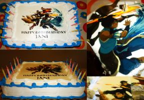 Legend of Korra Cake by Immature-Child02