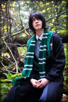Young Severus Snape by twinfools