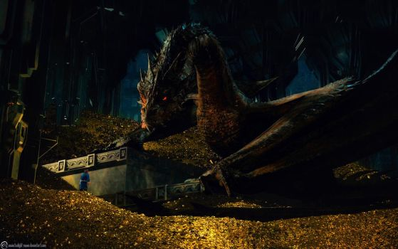 smaug - screenshot by twilight-nexus