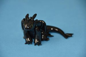 Toothless by redninjacreations