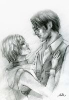 Heather and  Vincent by JustAnoR