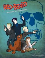Redbeard Mystery Inc Action Poster by KaitrinSnodgrass