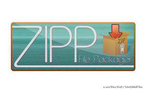 ZIPP - File Packager Logo by InterGlobalFilms