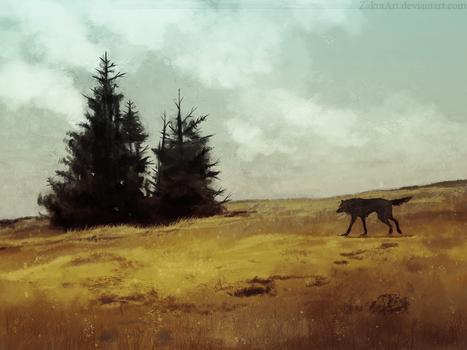 Walk by ZakraArt