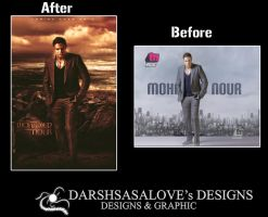 Mohamed Nour Before and After by DARSHSASALOVE