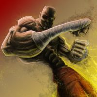 Sagat by ecaines
