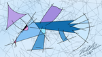 Trixie is now an abstract paint by Nicolasduca