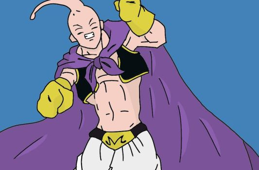 Majin Boo Magro by Torresmo01