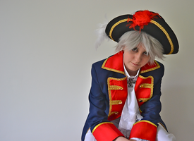 APH Cosplay: Prussia 2 by SabakuNoChie