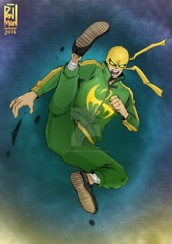 iron fist by PANMANstudio