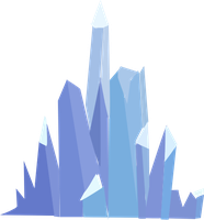 Some Crystal Empire Crystals by OceanRailroader