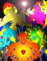 Demon's Crest Tribute by NickinAmerica