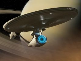 USS Enterprise by Brent-Newtron