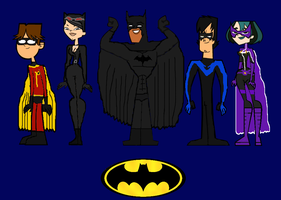 Total Drama Batman Group 1 by ThunderFists1988