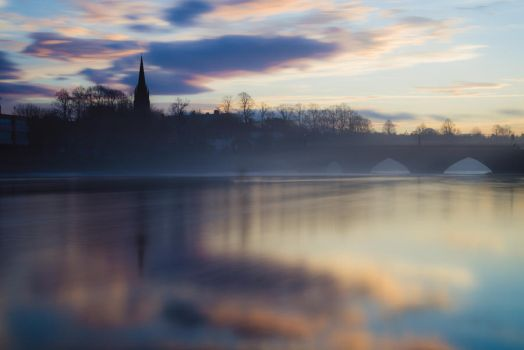 River Dee by llemonthyme