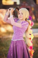 Rapunzel _tangled by Ariru-lunaticOo