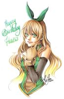 Happy Birthday Haew ! by Kai-Yan