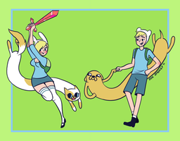 Adventure Time by ZoeStanleyArts
