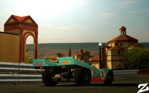 Porsche 917 at Montjuic by ZowLe
