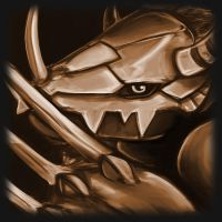 Wargreymon Icon by TheClintHennesy