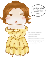 Not Belle by ksiazeAikka
