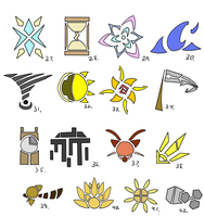 Symbol Compilation 27-42 by Pizaru-Chu