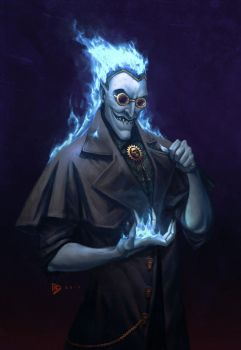 Hades (steampunk) by dartbaston