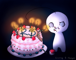 Cry's Birthday Card! (collaboration) by Sayuri-Zumi