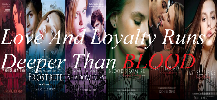 Vampire Academy first 6 books by Lissa5