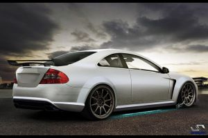 Mercedes CLK 63 AMG by FabricioProDesign