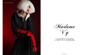 Madame Vy - for Jute Magazine by MadSDesignz