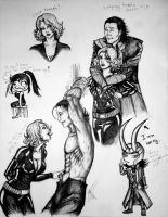 Loki Doodles by Luxuria-Dementia13