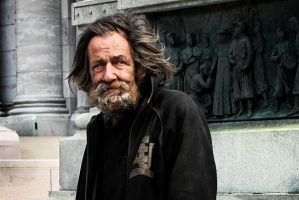 Montreal Beggar I by chirilas
