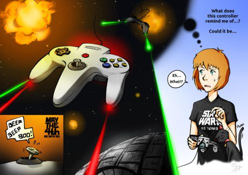 Star Wars Controllers by Sly-Mk3