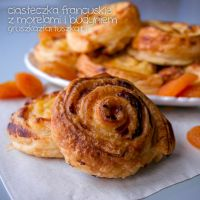 french cookies with apricots and pudding creme by Pokakulka