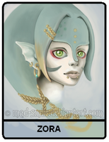 Me as a Zora by mad-smile