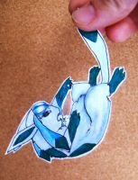 Glaceon by doodle-dee