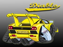 Cartoon Diablo by dmsdeedee