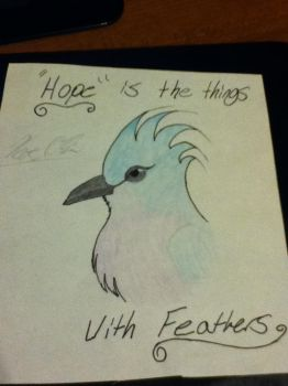 Hope is the things with Feathers by Bron3Gamer