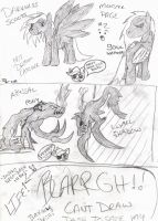 Darkness Scoots Monsters Page 2 by Laegreffon