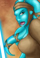 Aayla Secura by Geonox