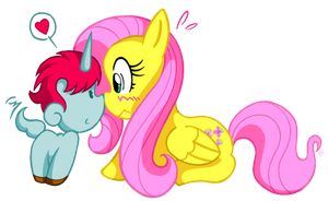 FSC Day 25: A new mate for Fluttershy by NekoAmine