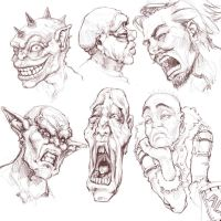 Fun Faces 1 by minties