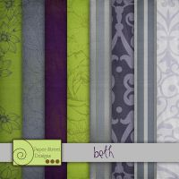 Beth papers by paperstreetdesigns