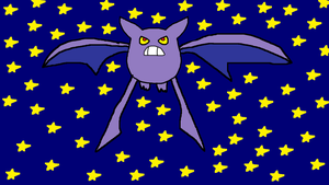 Crobat in the Night Sky by MagiMew