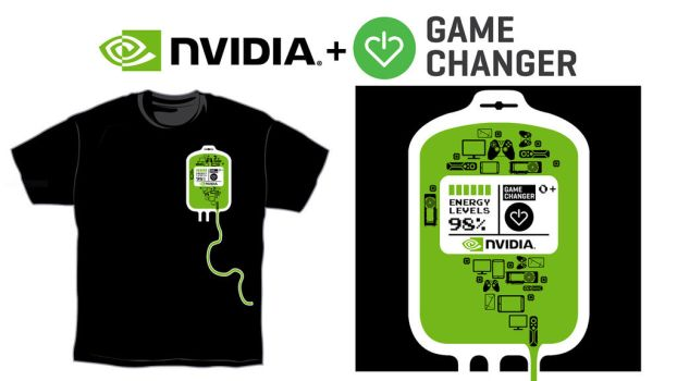 NVIDIA T-Shirt for Charity Entry2 by Toineed